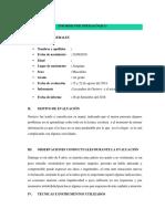 Informe Psicopedagógico Gustavo