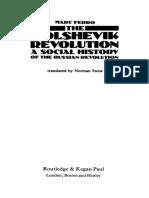 FERRO, Marc, Bolshevik Revolution - A Social History of the Russian Revolution