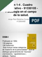 Dsm 1-4 . Cuadro Comparativo - 91330105 - Psicología en El Campo de La Salud. - Presentación