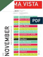 Prima Vista November 2018 Plakat