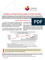 Informe Deuda de Córdoba Noviembre 2018