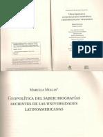 Texto 5 Geopolitica Del Saber