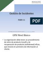 GESTION DE INCIDENTES