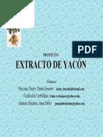 Yacon en La Salud