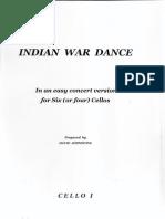 Indian War Dance-CELLO I