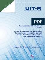 Diseño de Sistemas Terrenales Con Visibilidad Directa-UIT-R