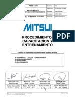 Procedimiento_ Capacitacion y Entrenamiento