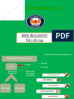 Presentasi RINI RULIANTI Metabolisme Alga