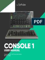 Softube Console 1 Manual