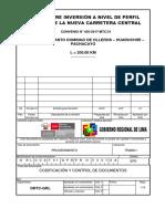 Formatos de Presentación de Informes