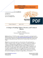 (2018) Lorin Anderson a Critique of Grading Policies Practices and Technical Matters