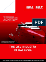 The OSV Industry in Malaysia MIDF 170914