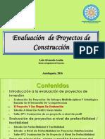 Seccion I I El Proyecto Y Sus Etapas de Evaluacion