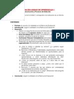 Evaluación Unidad de Aprendizaje 2 Competencias.