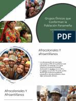 Grupos Étnicos Que Conforman La Población Panameña