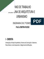 2015 s1 Ec Au Plano Aulas Quinta