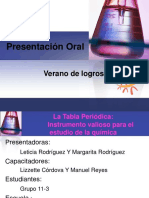 III - La Tabla Periodica