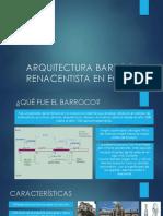 Arquitectura Barroca y Renacentista en Ecuador