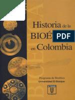 Historia de la bioética en Colombia