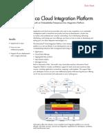 Cloud Integration Platform Data Sheet