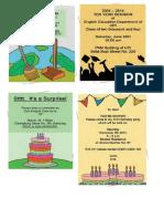 Invitation Card Cls VIII Unit 4