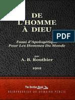 A. B. Routhier - De L'Homme A Dieu.pdf