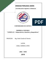 Dinámica Contable - Cta 22