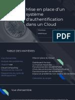 Cloud authentification via kerberos protocole