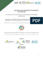 Programa IV Congreso Iberoamericano