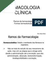 Aula 2 - Ramos Da Farmacologia e Formulas Farmaceuticas