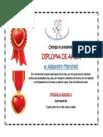 Diploma de Amor