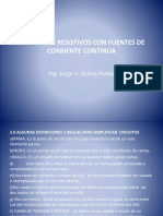 II CIRCUITOS RESISTIVOS CON FUENTES DE CORRIENTE CONTINUA.pptx