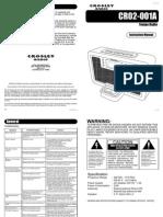 CR02 001A Manual
