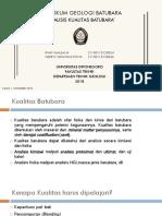 Analisis Kualitas Batubara Edited