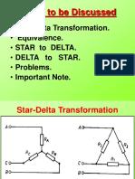 Star Delta Trsformation