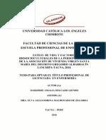 Estilos de Vida Factores Biosocioculturales (1)