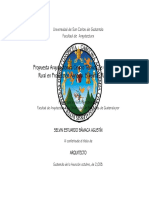 Propuesta Arquitectónica Centro Técnico de Capacitación