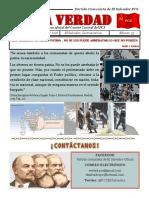 LA VERDAD PERIÓDICO DEL PARTIDO COMUNISTA DE EL SALVADOR PCS