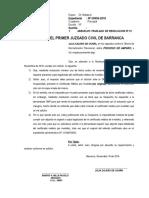 Absuelvo Traslado - Julia Calero - Onp