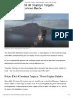 Sniper Elite 4 - Deadeye Targets
