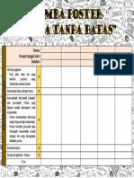 Kriteria Penilaian Lomba Poster