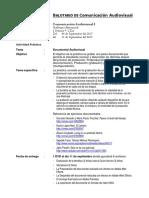 Sustitutorio Comunicación Visual