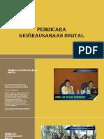 Pembicara Seminar TeknologiFast Respon Call, Sms 081.23.2626.994