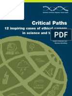Critical Paths 12 Inspiring Cases of Ethical Careers