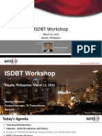 2015 03 Horspool ISDBT Workshop