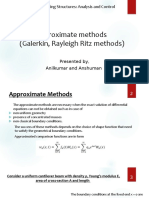 Approximate Methods