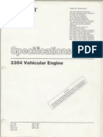 123272787 Ia Caterpillar Specifications 3304 VehicularEngine Text