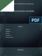 transmutaciones nucleares