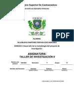 Unidad 2 Taller de Investigacion II