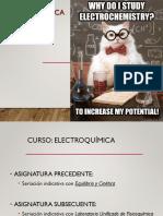 Curso de Electroquímica-Facultad de Química UNAM